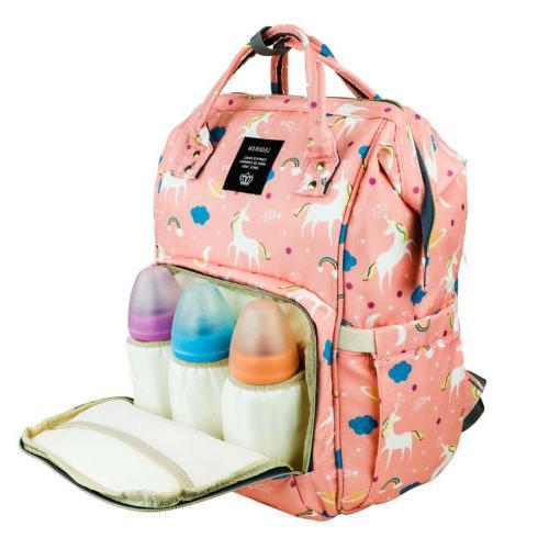 Diaper Backpack Capacity Baby Bookbag for