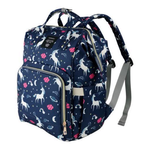 Diaper Bag Capacity Baby Bookbag for