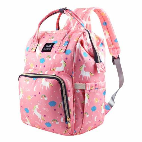 lequeen mummy diaper backpack large capacity maternity