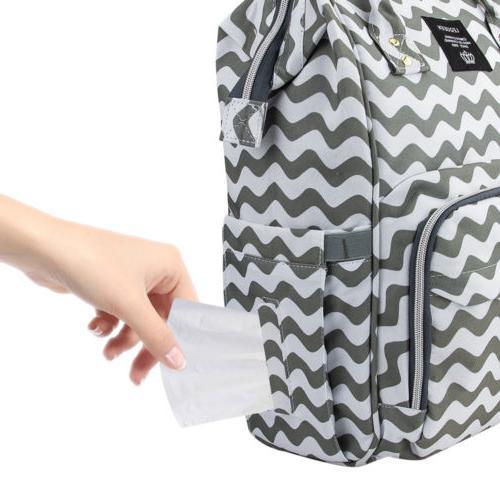 LEQUEEN Mummy Diaper Bag Large Capacity