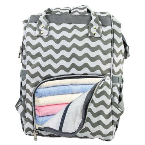 LEQUEEN Maternity Diaper Bag Large Baby Changing