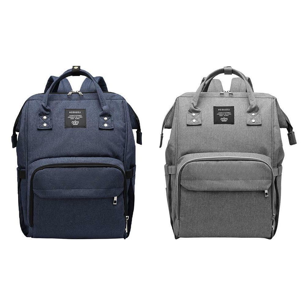 LEQUEEN Nappy Bag Capacity Travel