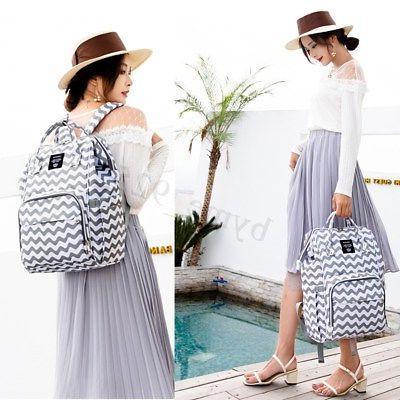 LEQUEEN Bag Mummy Travel Handbag Backpack