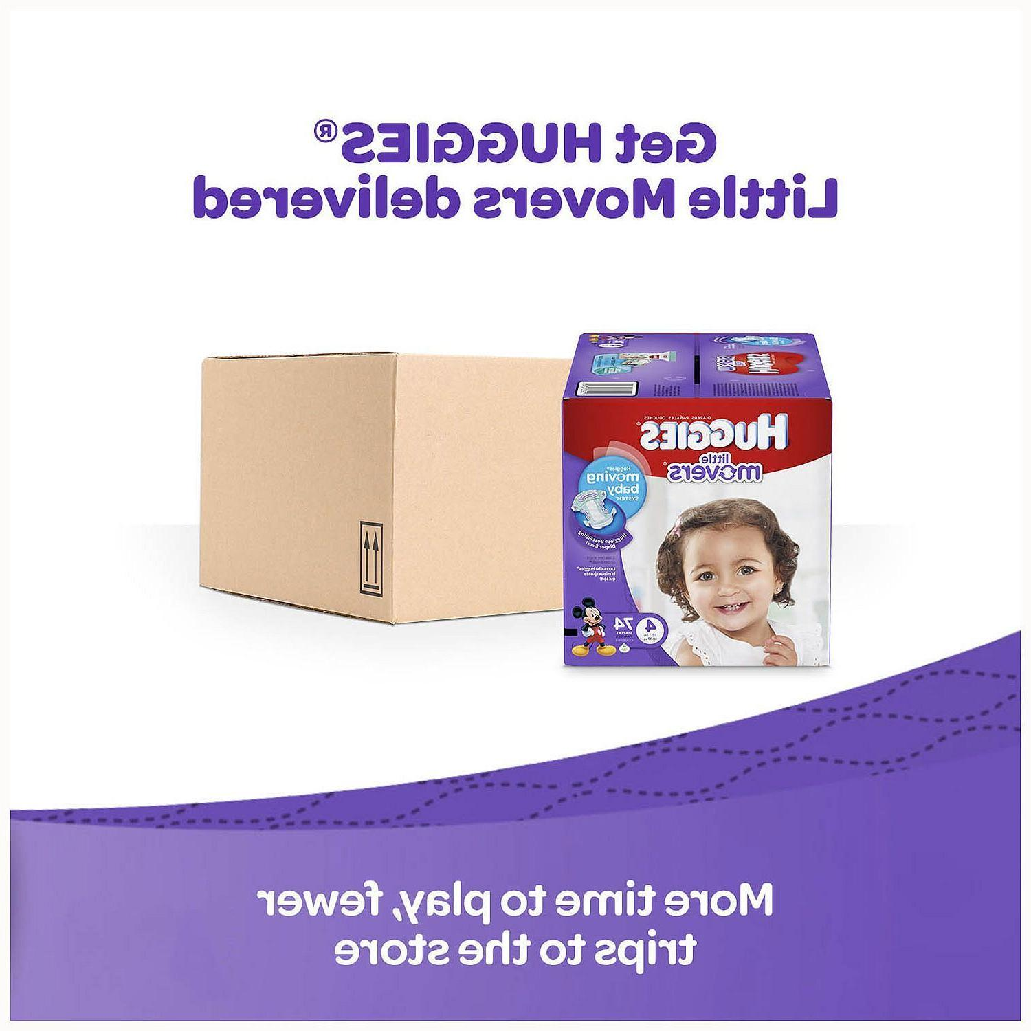 Huggies Movers Diapers Size 5 & 6 Free