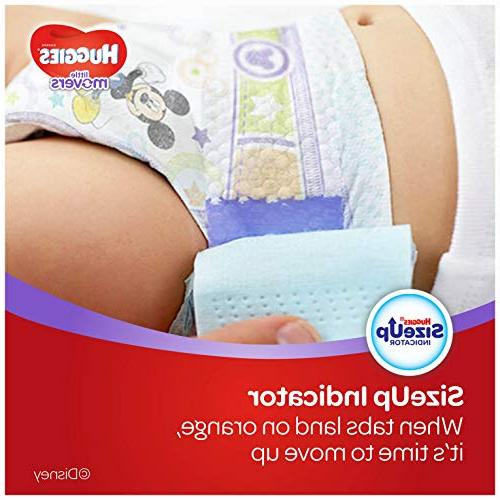 HUGGIES MOVERS Diapers, Size 5 , Ct., Baby Diapers Babies