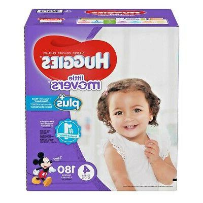 little movers plus diapers size 4 180