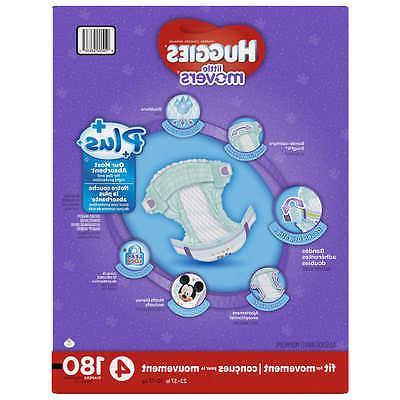 Huggies® Diapers 4; 180 Baby Diaper Comfort Children