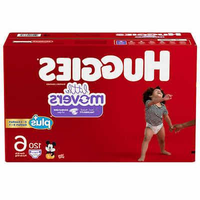 little movers plus diapers size 5 150