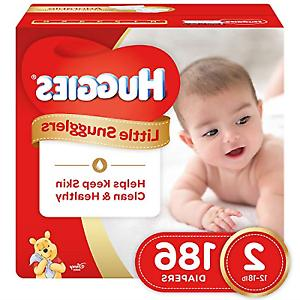 little snugglers baby diapers size 2 economy