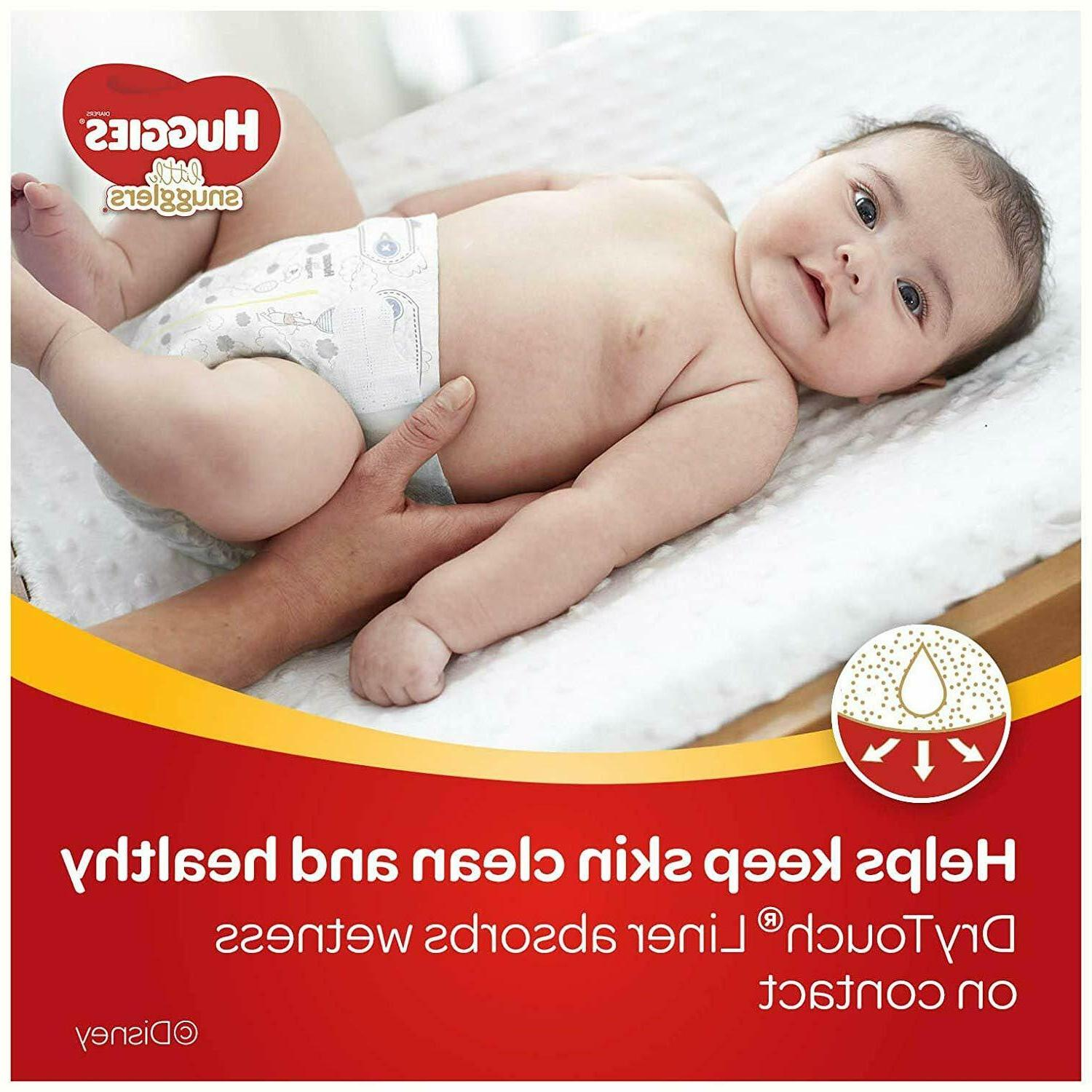 Little Snugglers Baby Size 4,140 Plus Pack
