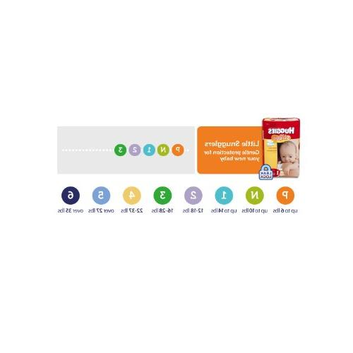 Huggies Diapers Economy Plus, 204