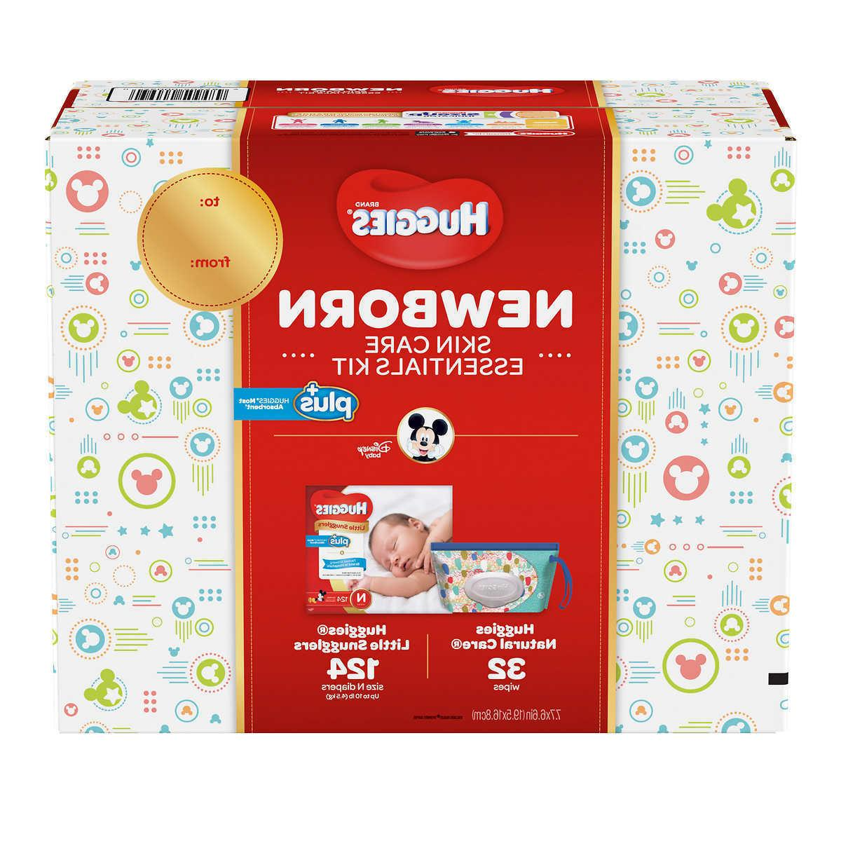 little snugglers plus 124 ct diapers new