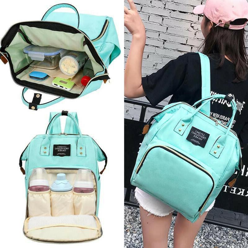 Living Diaper Bag Multi-Function Waterproof Backpack