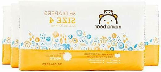 mama bear diapers size 4 144 count