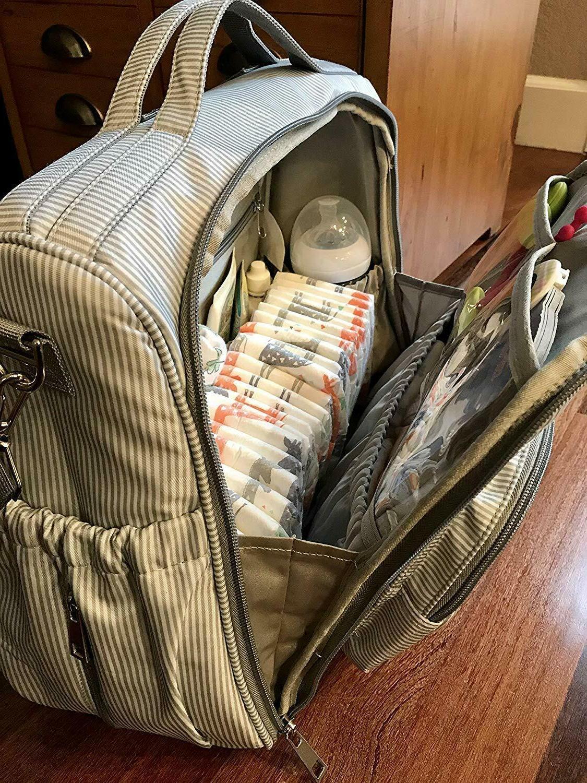 Multi-Funtion Mummy Maternity BAG, For DAD MOM