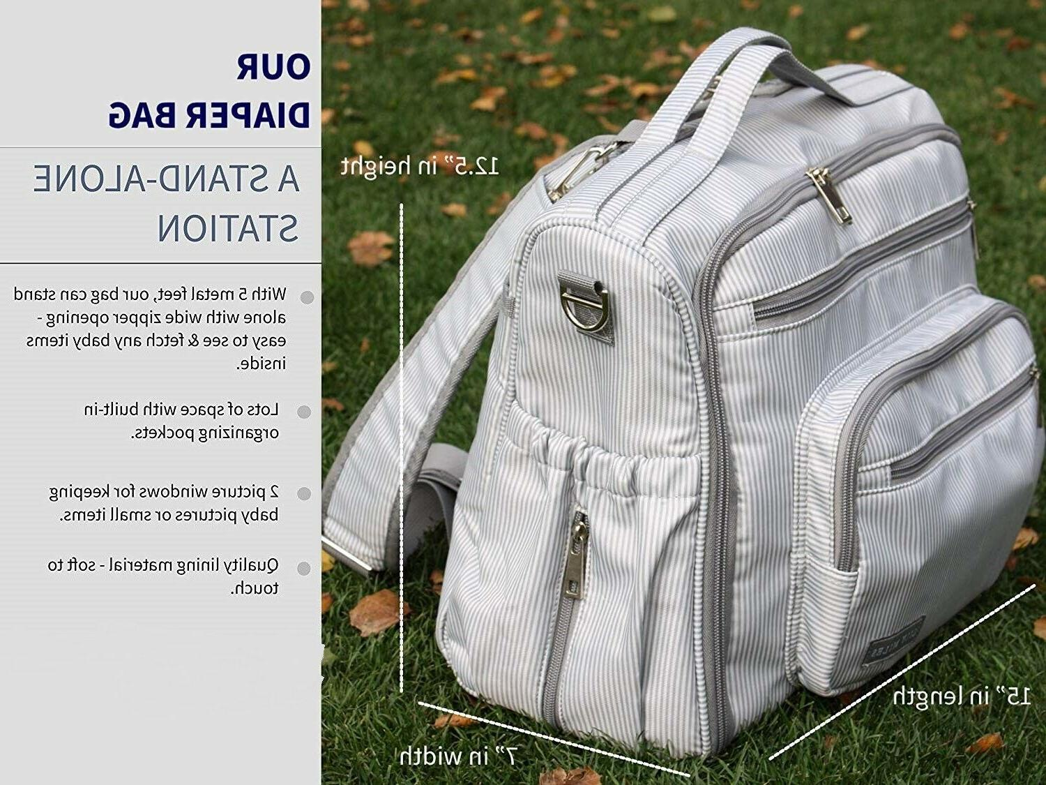 Multi-Funtion Mummy BAG, BACKPACK, CROSSBODY For
