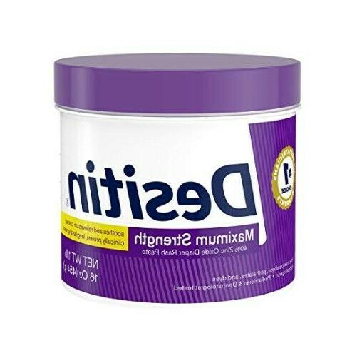 Desitin Maximum Strength Baby Diaper Rash Cream w/Zinc Oxide