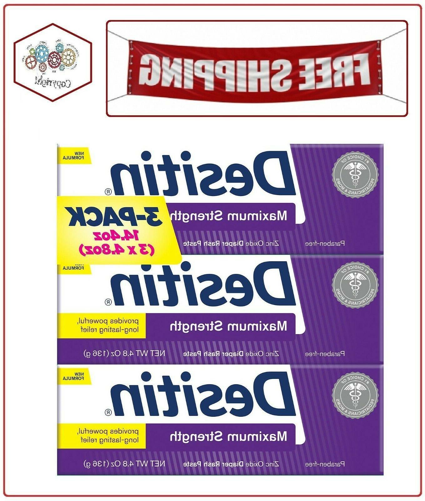 maximum strength diaper rash paste 4 8