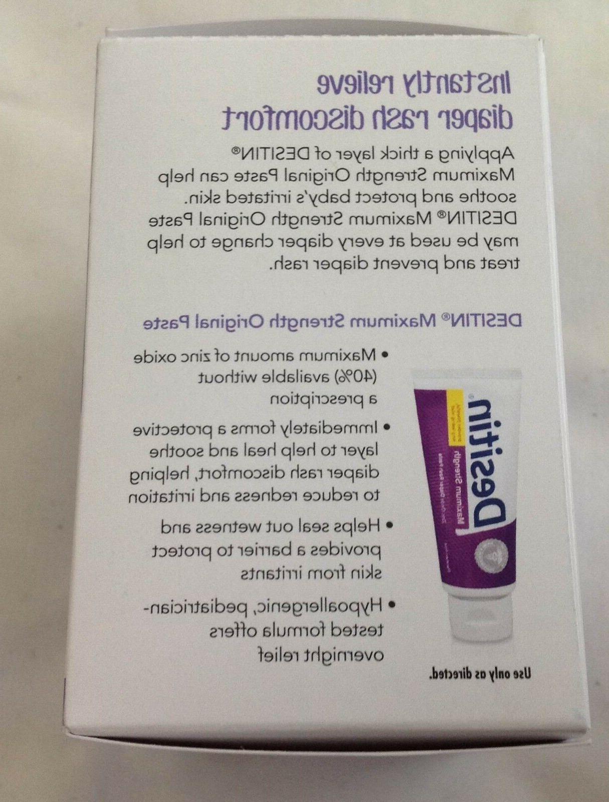 Desitin Rash Paste 40% Zinc Oxide Packs