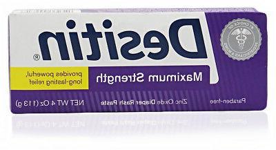 maximum strength zinc oxide diaper rash paste