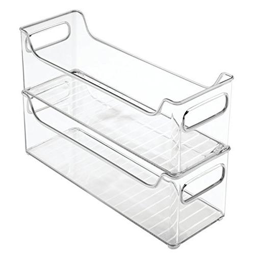 "mDesign Bins for Toys Pack 4, 5"" x x Clear"