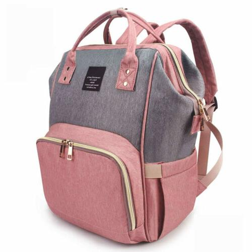 Mummy Maternity Nappy Diaper Bag Large Capacity Baby Travel