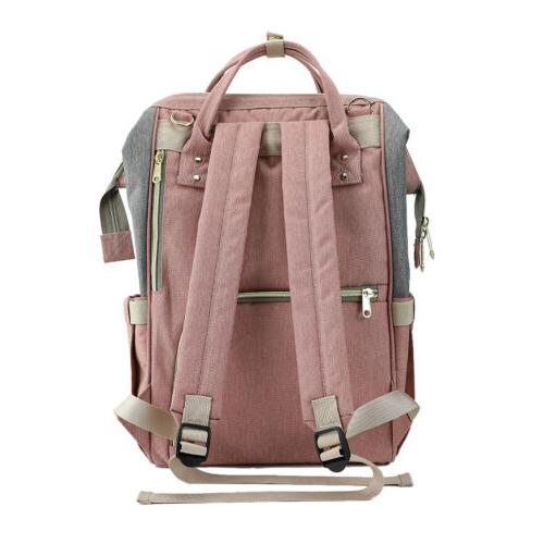 Mommy Baby Bag Large Nappy Backpack Waterproof +
