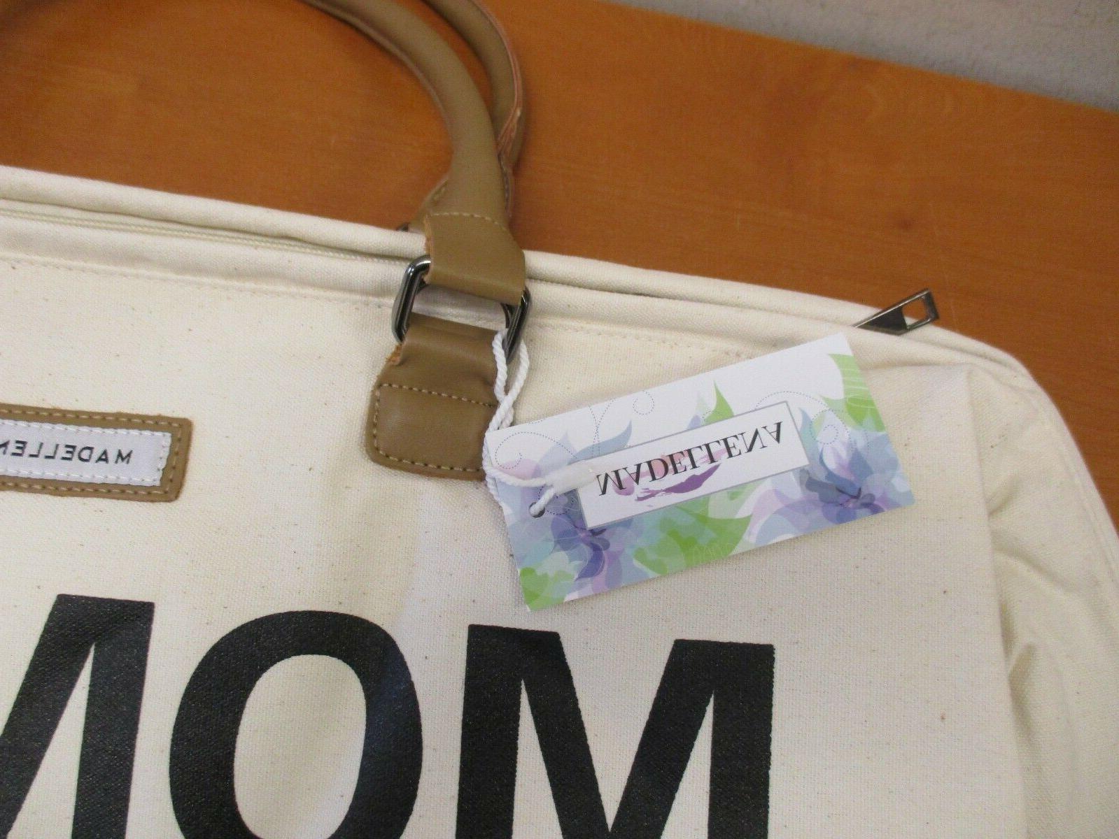 Madellena Mommy Bag Cream