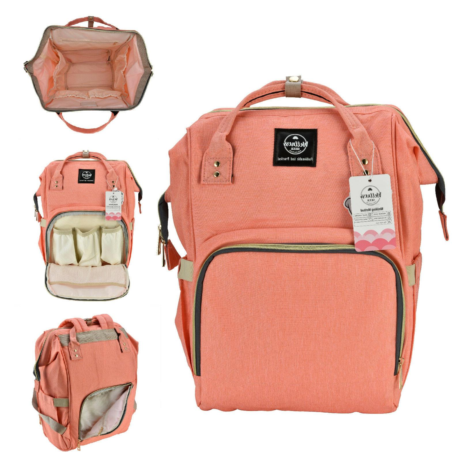 Mommy Capacity Baby Nappy Travel Backpack
