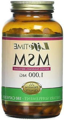 Msm 1000 Mg Baby Bathing Products 180 Count