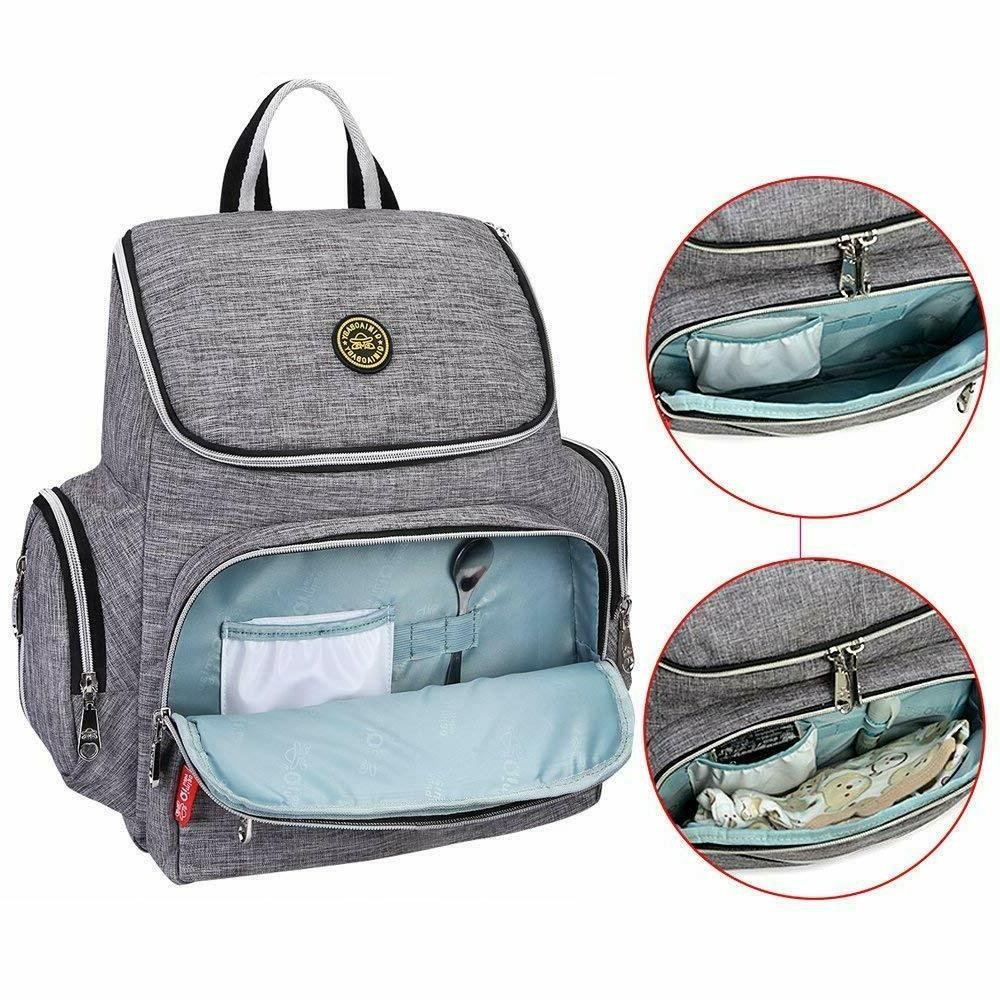 Multi-Function Diaper Backpack and