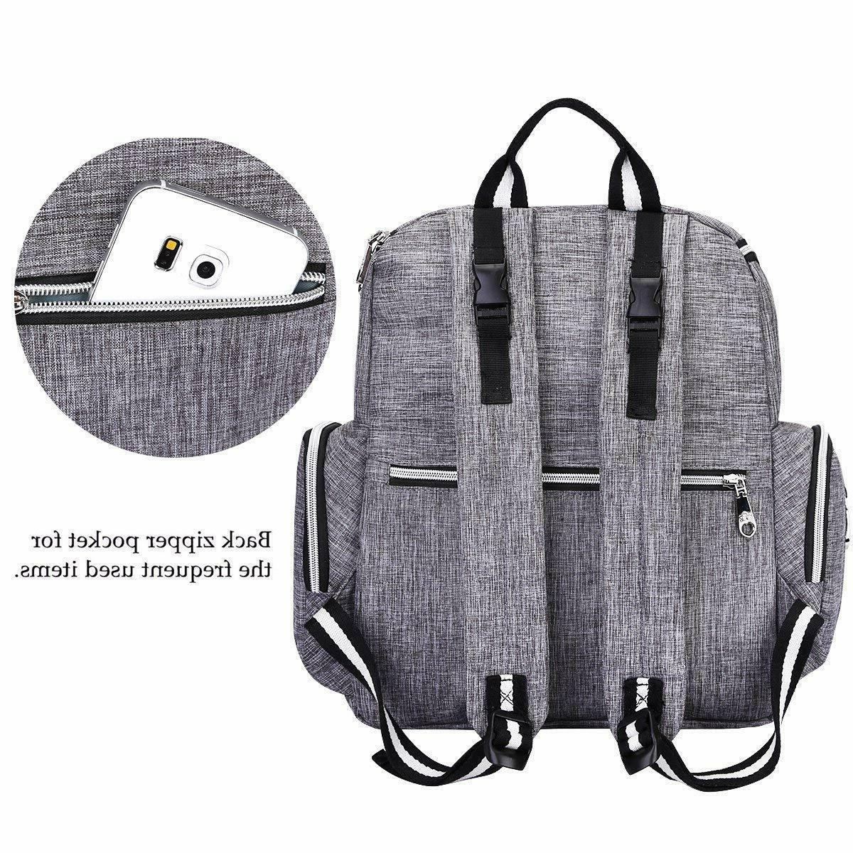Multi-Function Backpack and Portable Insulated