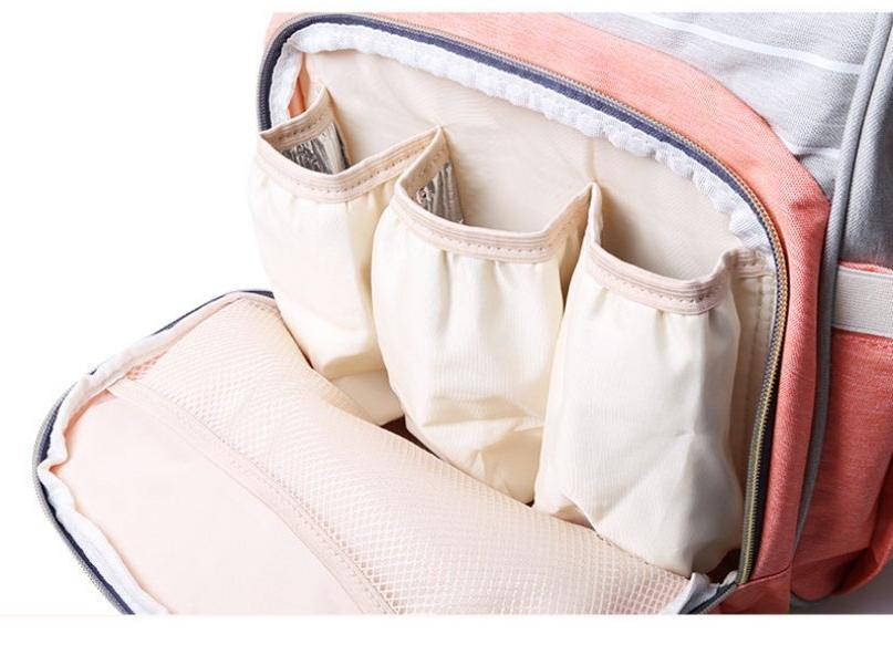 Mummy Diaper Backpack Large Capacity LEQUEEN