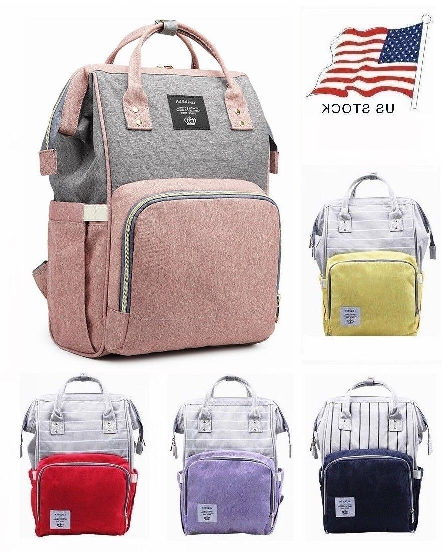 mummy diaper backpack large capacity baby nappy