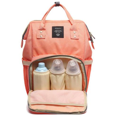 LAND-QUEEN Mummy Maternity Diaper Bag Baby Backpack