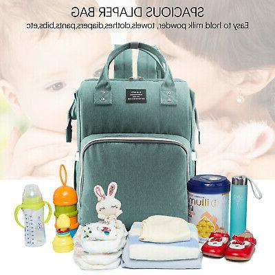 LAND Diaper Backpack Light Green