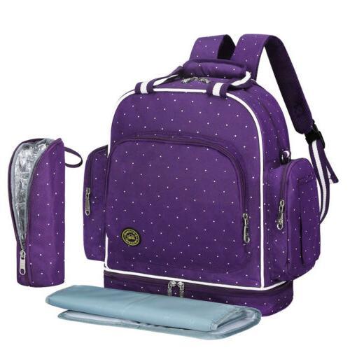 Large Multifunction Diaper Bag Backpack Travel Maternity Bab