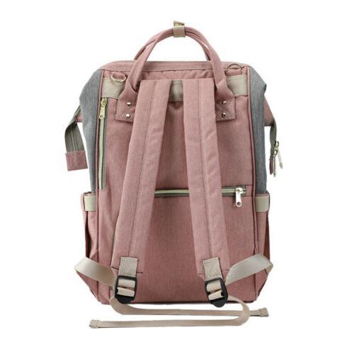 Waterproof Large Mummy Diaper Fashion Changing Backpack