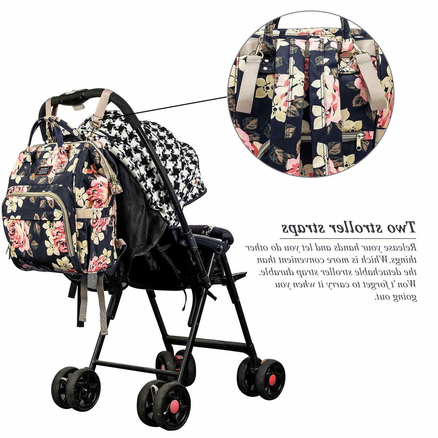 Mummy Maternity Diaper Bag Big Travel Nursing girl