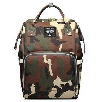 Ergo Maternity Nappy Diaper Bag Capacity Baby Backpack