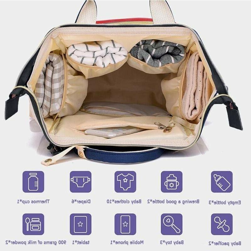 Mum Nappy Diaper Bags Large Bag