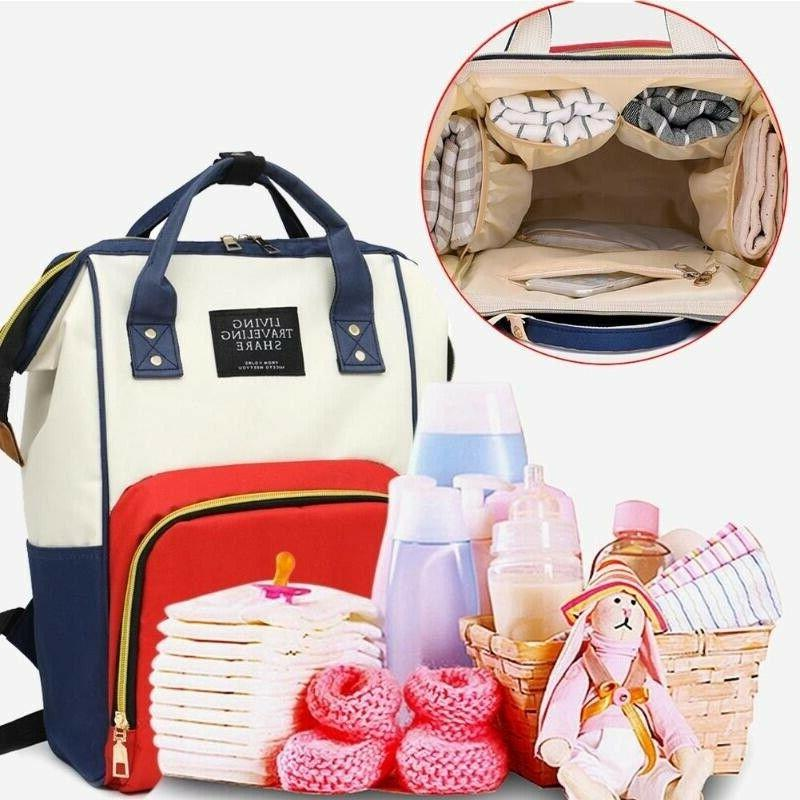 Mum Nappy Bag Capacity Bag Handbags