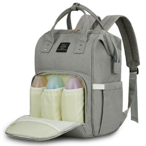 mummy maternity nappy diaper bag large capacity