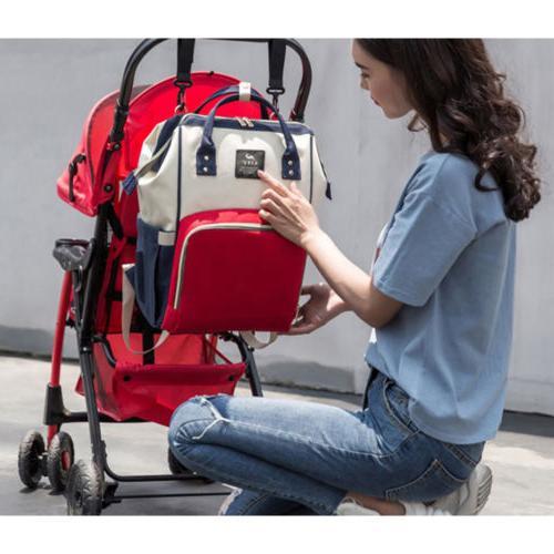 Mummy Bag Large Changing Travel Backpack Handbag
