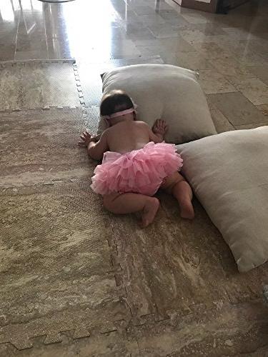 Ruffle Bow Baby Bloomer Cover Headband