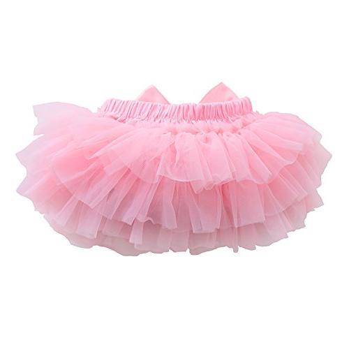muyan Cotton Ruffle Bloomer Diaper and Headband )