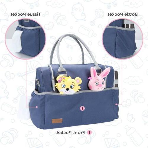 Nappy Bag Baby Nursing Handbag & Dad