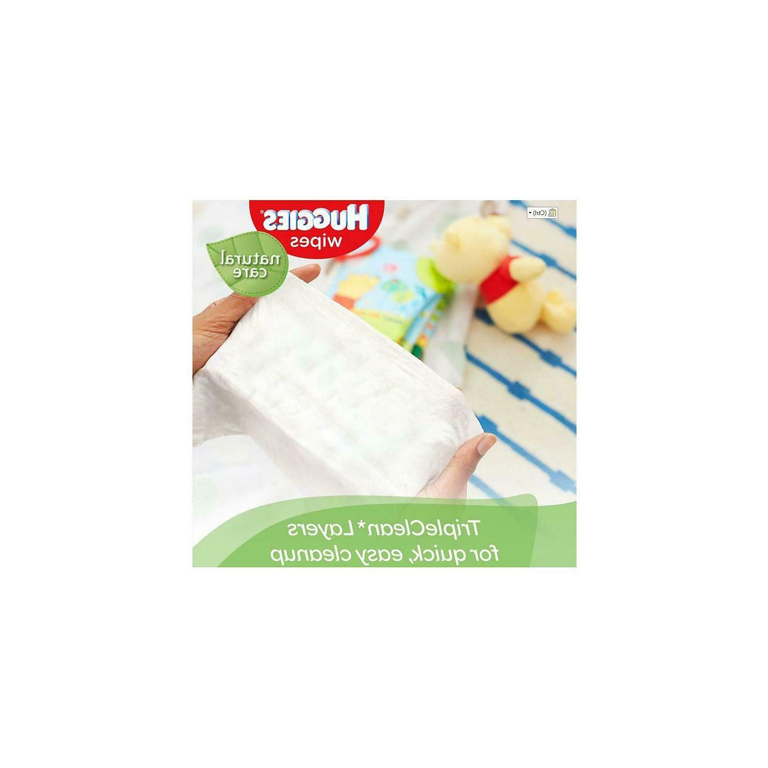 Huggies Natural Care Wipe Free Sensitive Skin