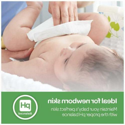 Unscented Baby Wipes Water-Based