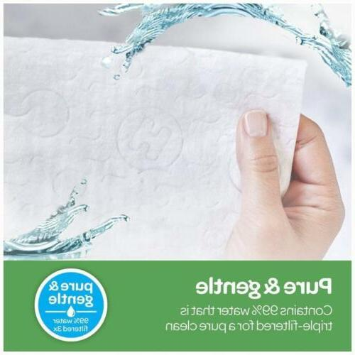 HUGGIES Natural Unscented Baby Wipes Water-Based